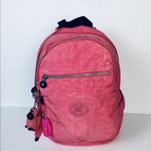 Kipling Salmon Colour Small Backpack